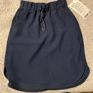 Lululemon Navy skirt